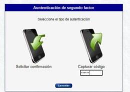 Autenticación por Celular o con un USB
