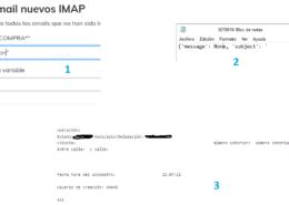 Busqueda y lectura de correos IMAP