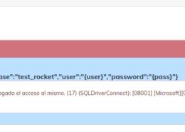 No puedo conectarme a base de datos SQL SERVER