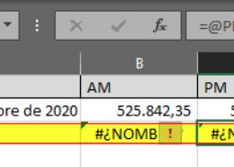 Escribir números decimales en Excel